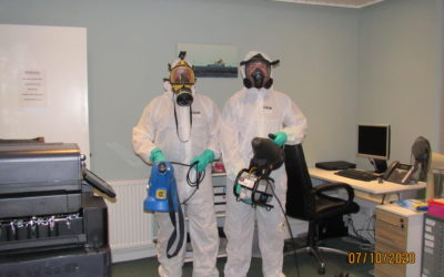 FOGGING & DEEP CLEAN AT CITY CENTRE OFFICE